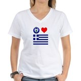 Eye Love Greece Shirt