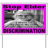 Stop Elder Discrimination Yard Sign
