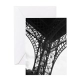 eiffel tower Greeting Card