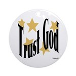 Trust God Keepsake (Round)