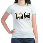 Trust God Jr. Ringer T-Shirt