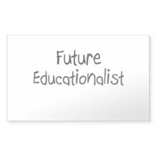 Future Educationalist Rectangle Decal