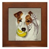 Jack Russell Terrier Framed Tile