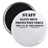 "Glenn Beck Protection Force 2.25"" Magnet (10 pack)"