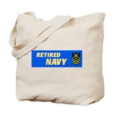 Retired Navy CPO Tote Bag