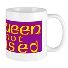 The Queen is Not Amused Mug