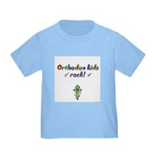 """Orthodox kids rock!"" T"