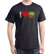 I Love Hamburgers (design) T-Shirt