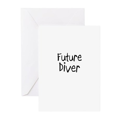 Future Diver Greeting Cards (Pk of 10)