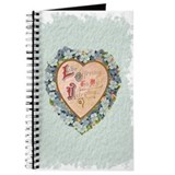 Blue Valentine Heart Journal