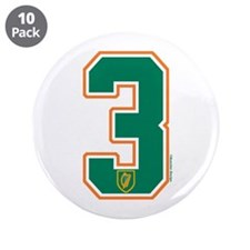 "IE Ireland(Eire/Erin) Hockey 3 3.5"" Button (10 pac"