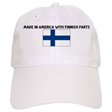 MADE IN AMERICA WITH FINNISH Baseball Cap