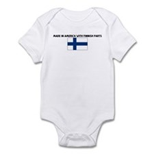MADE IN AMERICA WITH FINNISH  Infant Bodysuit