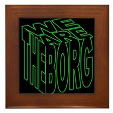 We are the Borg Framed Tile