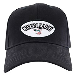 Cheerleader Black Cap