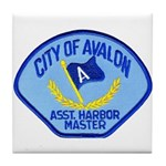 Avalon Harbor Master Tile Coaster