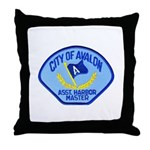 Avalon Harbor Master Throw Pillow