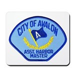 Avalon Harbor Master Mousepad
