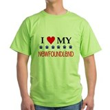 I Love My Newfoundland T-Shirt