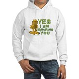 Ignoring you Garfield Jumper Hoody