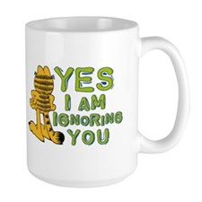 Ignoring you Garfield Mug
