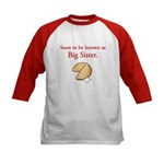 Big Sister - Fortune Cookie Kids Baseball Jersey