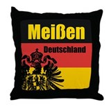Meißen Deutschland Throw Pillow