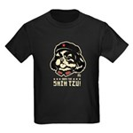 Shih Tzu Tungue - Kids Dark T-Shirt