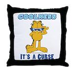 Cool Garfield Throw Pillow