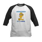 Cool Garfield Kids Baseball Jersey