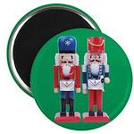 Happy Masons Nutcrackers Magnet