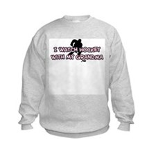 Colorado Hockey Grandma Sweatshirt