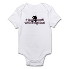 Colorado Hockey Grandma Infant Bodysuit