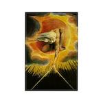 William Blake Rectangle Magnet