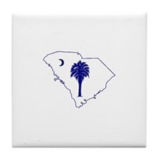 tillman palmetto Tile Coaster