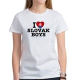 I Love Slovak Boys Tee