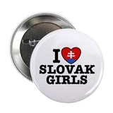 "I Love Slovak Girls 2.25"" Button"