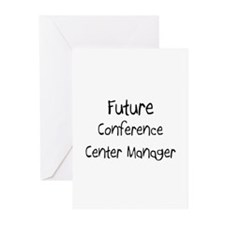 Future Conference Center Manager Greeting Cards (P