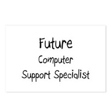 Future Computer Support Specialist Postcards (Pack