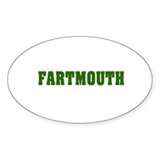 FARTMOUTH Oval Decal
