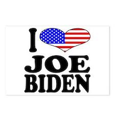 I Love Joe Biden Postcards (Package of 8)