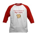 Big Cousin - Fortune Cookie Kids Baseball Jersey