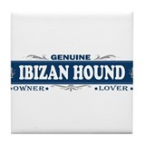 IBIZAN HOUND Tile Coaster