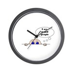 STUPID PEOPLE Wall Clock