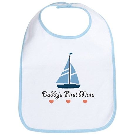 Daddy's 1st Mate Sailing Sailboat Bib