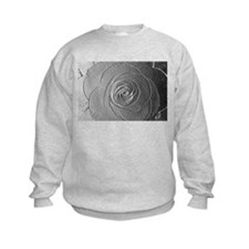 Metallic Rose Sweatshirt