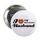 "I love my Macedonian husband 2.25"" Button (100 pac"