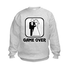 Wedding Symbol: Game Over Sweatshirt
