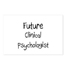 Future Clinical Psychologist Postcards (Package of