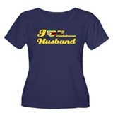I love my Zimbabwean Husband Women's Plus Size Sco